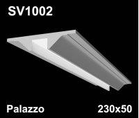 SV1002 - встраиваемый светильник для светодиодной подсветки из гипса Palazzo 230х50мм